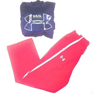 Under Armour Lot Pants Hoodie Youth Sm